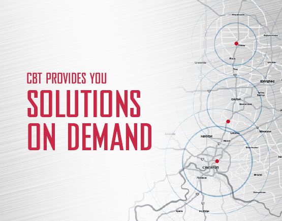CBT provides you solutions on demand